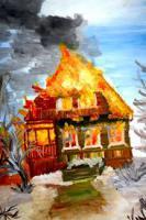 Рисунки на тему пожара распечатать